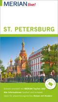 MERIAN live! Reiseführer St. Petersburg; Mit Extra-Karte zum Herausnehmen; MERIAN live; Deutsch