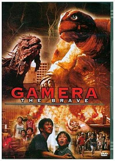 Gamera The Brave, 1 DVD