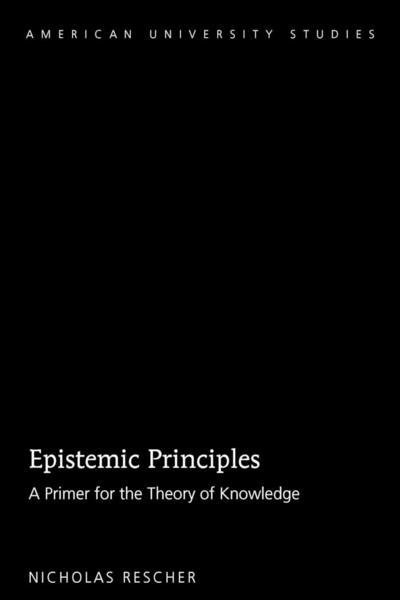 Epistemic Principles