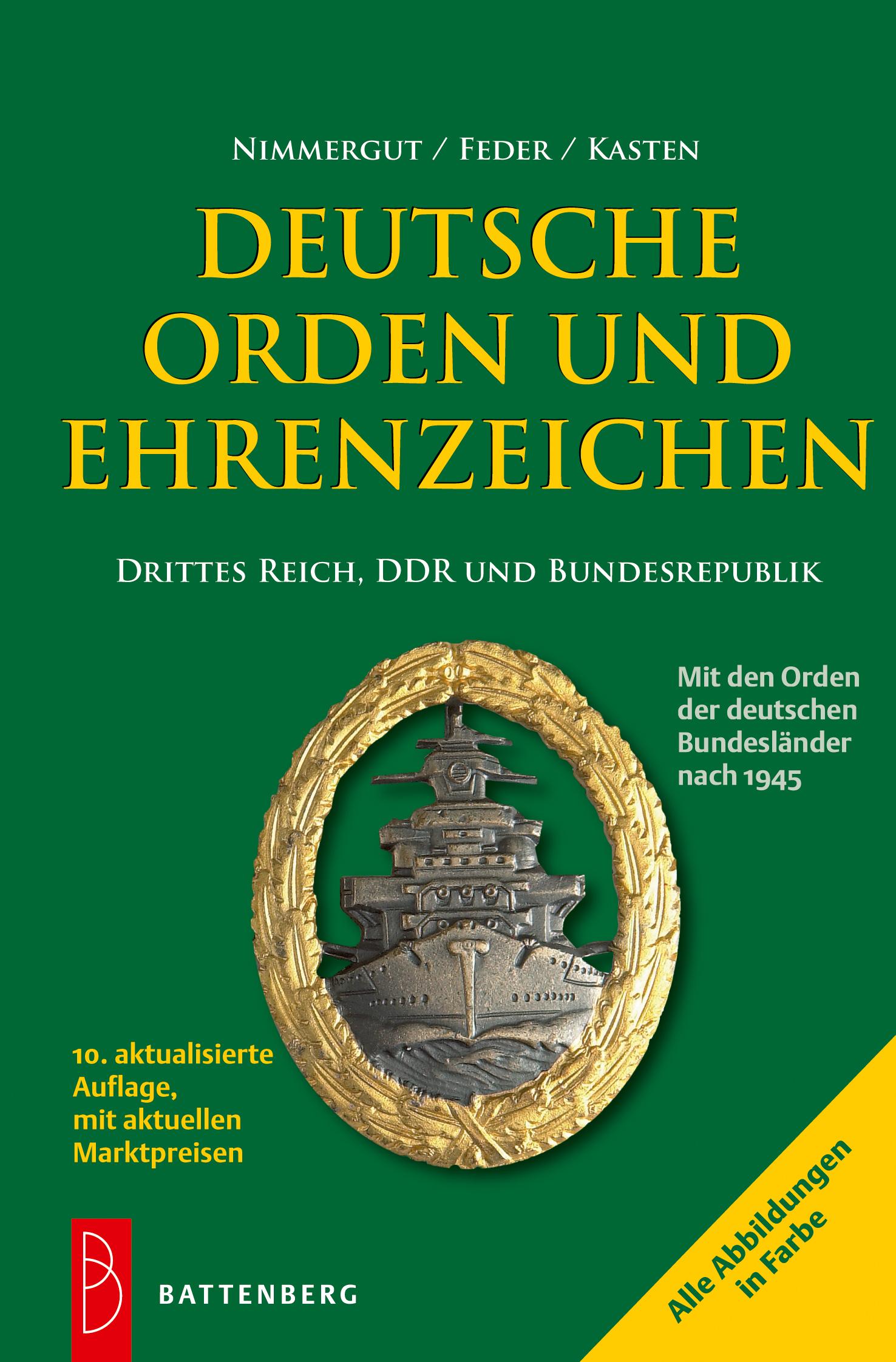 Deutsche Orden und Ehrenzeichen Jörg Nimmergut 9783866461543