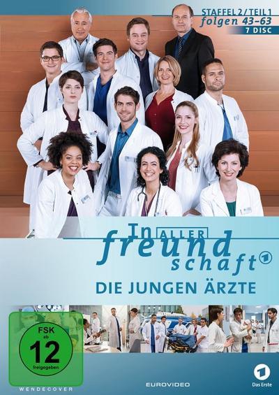 In aller Freundschaft - Die jungen Ärzte - Staffel 2 (Folgen 43 - 63) DVD-Box