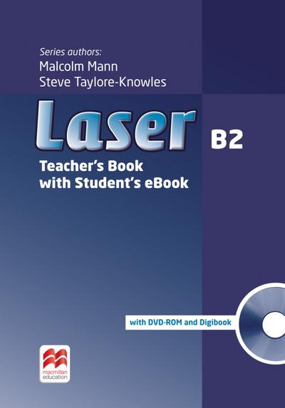 Laser B2 (3rd edition). Teacher's Book with ebook, Digibook (CD-ROM) and Teacher's DVD-ROM