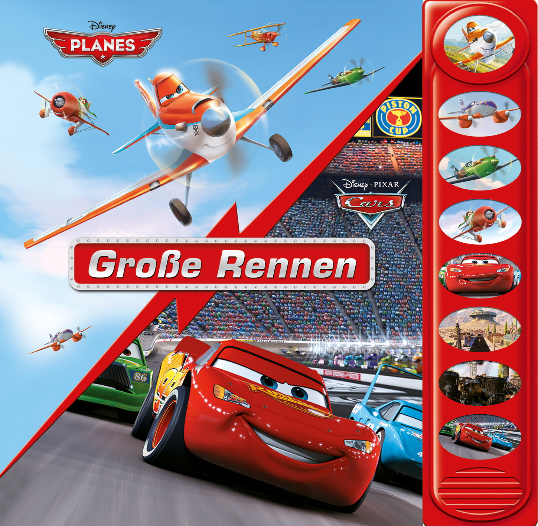 Cars/Planes, Große Rennen |  |  9781450886659