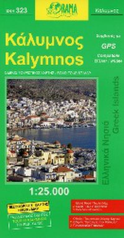 Kalymnos 1 : 25 000