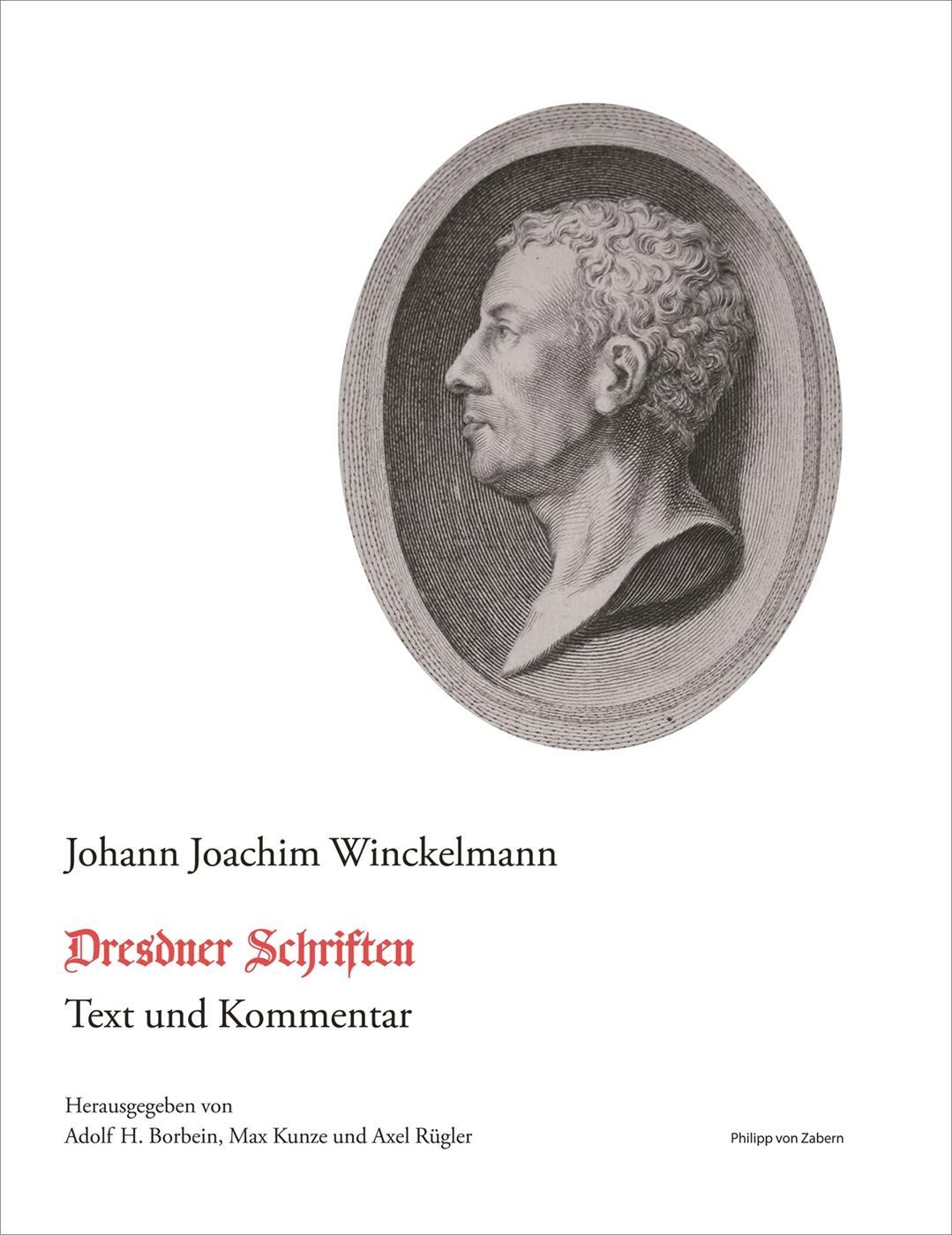 Dresdner Schriften Johann Winckelmann