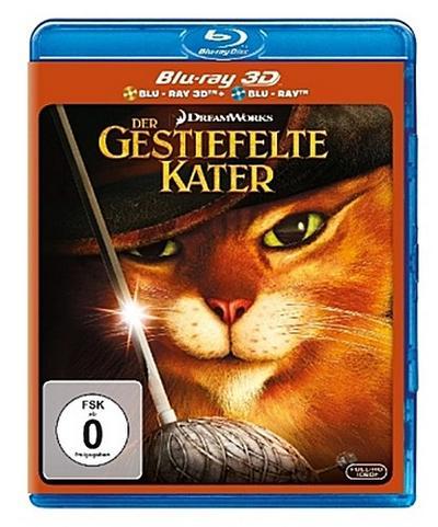 Der gestiefelte Kater - 2 Disc Bluray