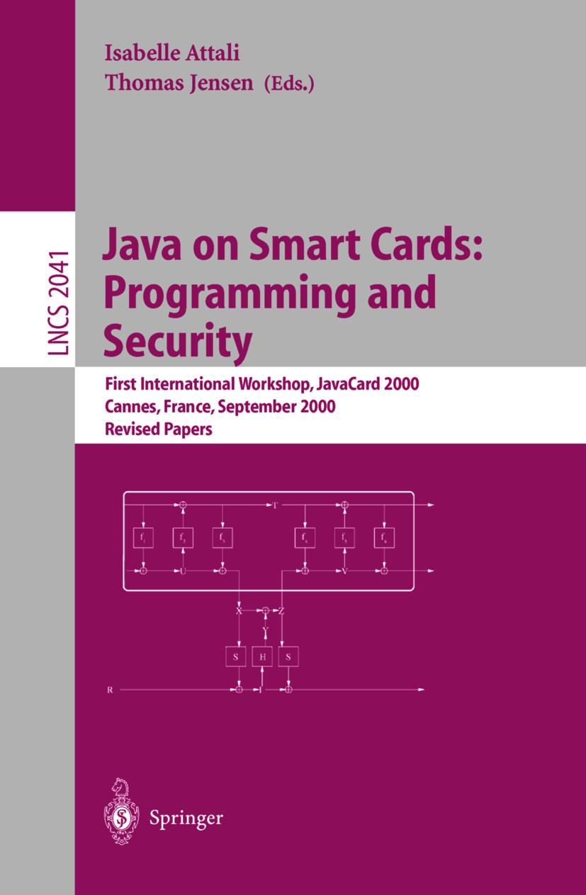 Java on Smart Cards: Programming and Security, Isabelle Attali