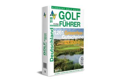 Albrecht Golf Führer Deutschland 20/21 inklusive Gutscheinbuch