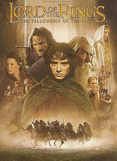 The Lord of the Rings the Fellowship of the Ring: Piano/Vocal/Chords