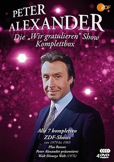 Die Peter Alexander Wir gratulieren Show