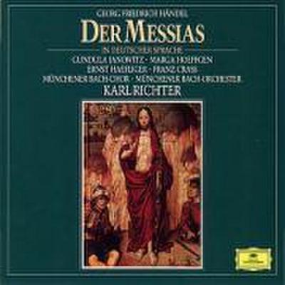 Der Messias (Gesamtaufnahme). 3 Klassik-CDs