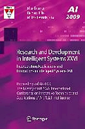 Research and Development in Intelligent Systems XXVI Max Bramer