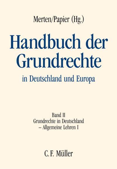 Handbuch der Grundrechte in Deutschland und Europa 2
