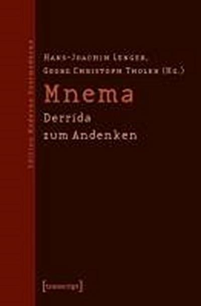 Mnema: Derrida zum Andenken