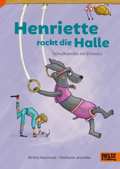 Henriette rockt die Halle