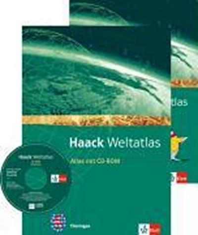 Haack Weltatlas für die Sekundarstufe I. Mit 1 CD-ROM und einem Arbeitsheft 'Kartenlesen'. Ausgabe für Thüringen