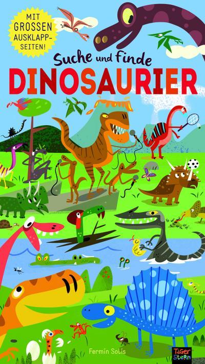 Suche und finde Dinosaurier