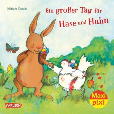 Maxi-Pixi Nr. 243: VE 5 Ein großer Tag für Hase und Huhn