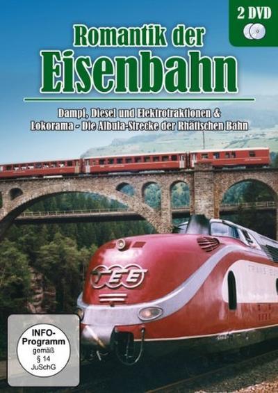 Romantik der Eisenbahn - Dampf, Diesel und Elektrotraktionen & Lokorama - Die Albula-Strecke der Rhätischen Bahn