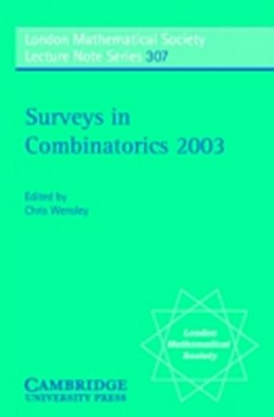 Surveys in Combinatorics 2003