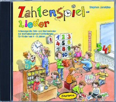 Zahlenspiel-Lieder, Audio-CD