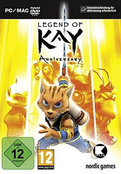 Legend of Kay - [PC] - THQ Nordic - Computerspiel, Deutsch| Italienisch| Spanisch| Französisch| Englisch, , ,