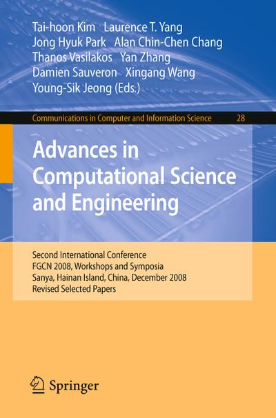 Advances in Computational Science and Engineering