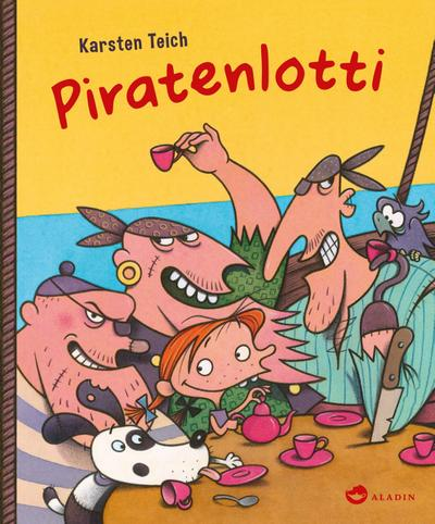 Piratenlotti; Ill. v. Teich, Karsten; Deutsch