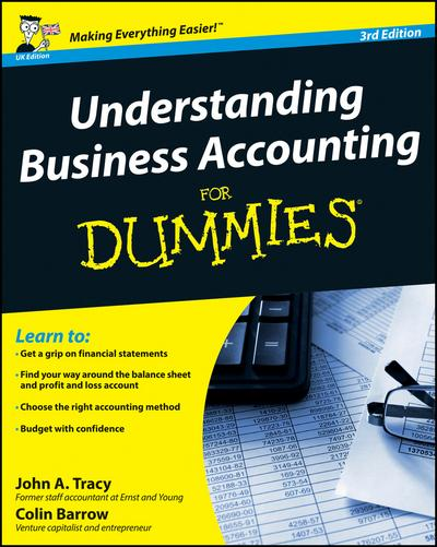 Understanding Business Accounting For Dummies, 3rd UK Edition