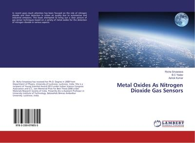 Metal Oxides As Nitrogen Dioxide Gas Sensors
