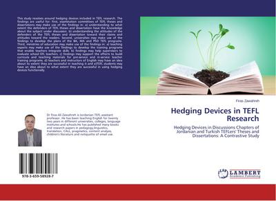 Hedging Devices in TEFL Research