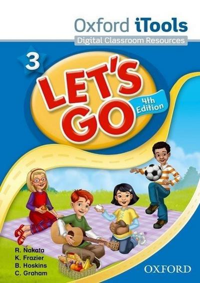 Let's Go 3 Itools Classroom Presentation DVD-ROM: Language Level: Beginning to High Intermediate. Interest Level: Grades K-6. Approx. Reading Level: K