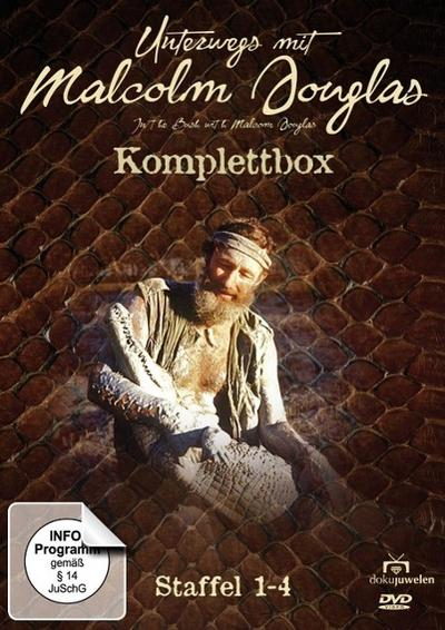 Unterwegs mit Malcolm Douglas - Komplettbox (Staffeln 1 - 4)