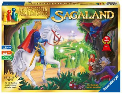 Ravensburger 26424 - Sagaland - Spiel des Jahres 1982