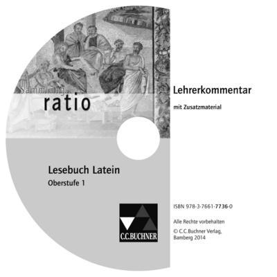 Lesebuch Latein Oberstufe 1, Lehrerkommentar, CD-ROM