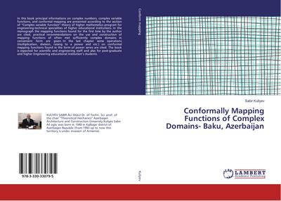 Conformally Mapping Functions of Complex Domains- Baku, Azerbaijan
