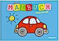 Kleines Malbuch Fahrzeuge. Ab 3 Jahren; Malbücher und -blöcke; Ill. v. Turnhofer, Kersti; Deutsch; s/w illustriert