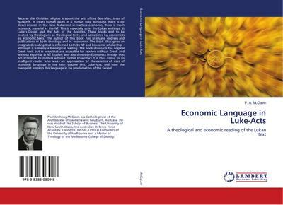 Economic Language in Luke-Acts: