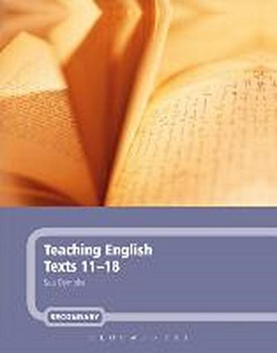 Teaching English Texts 11-18