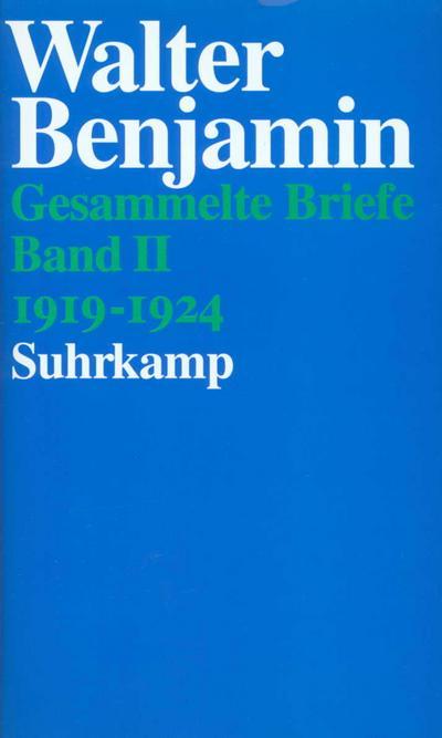 Briefe 1919 - 1924