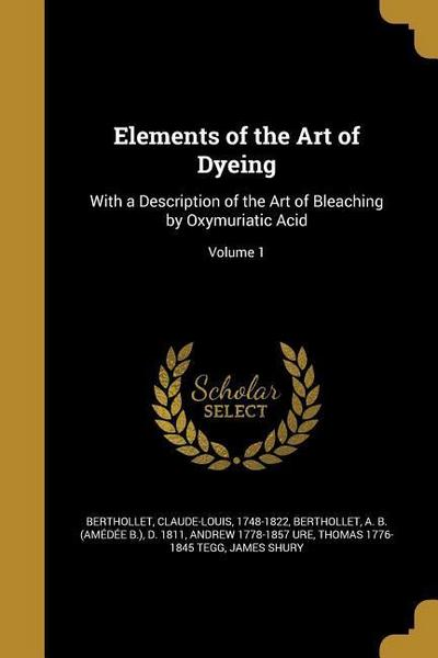 ELEMENTS OF THE ART OF DYEING