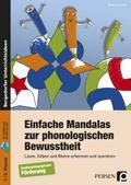 Einfache Mandalas zur phonologischen Bewusstheit