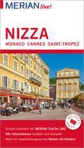 MERIAN live! Reiseführer Nizza Monaco Cannes Saint-Tropez; Mit Extra-Karte zum Herausnehmen; MERIAN live; Deutsch