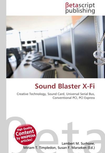 Sound Blaster X-Fi