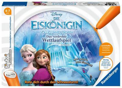 tiptoi® Die Eiskönigin - Völlig unverfroren. Das verdrehte Wettlaufspiel