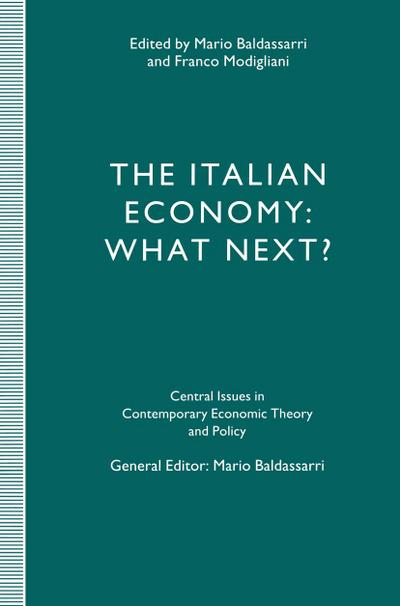 The Italian Economy: What Next?