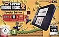 Nintendo 2DS Black + New Super Mario Bros. 2, ...