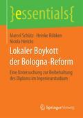 Lokaler Boykott der Bologna-Reform