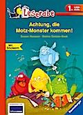 Achtung, die Motz-Monster kommen!; HC - Leserabe - 1. Lesestufe; Ill. v. Gotzen-Beek, Betina; Deutsch; durchg. farb. Ill., mit Stickern