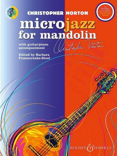 Microjazz for Mandolin, m. Audio-CD